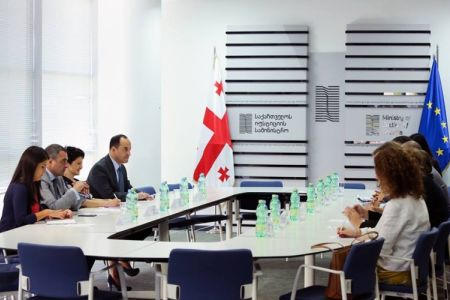 Minister of Justice met with Delegation of the EU-Georgia Association Parliamentary Committee