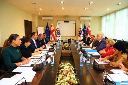 Zviad Mixanashvili held a meeting with the delegation of CPT