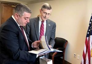Kakha Kakhishvili met with Acting Director of the Federal